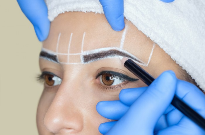 Microblading with Phi pigments